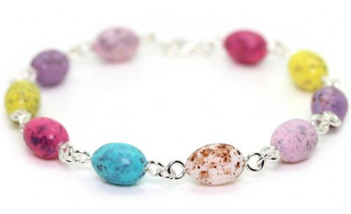 Bluebubble MINI SWEET TREAT Mini Eggs Charm Bracelet With FREE Gift Box